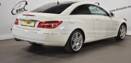 Mercedes-Benz E 250 Coupe Blue Efficency