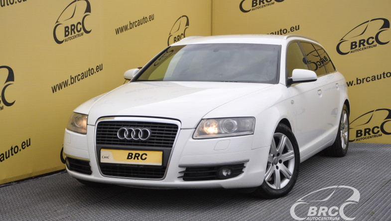 Audi A6 2.7TDI S-Line Avant Automatas