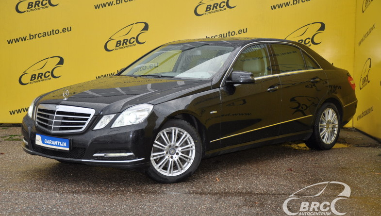 Mercedes-Benz E 350 CDI 4Matic Avantgarde
