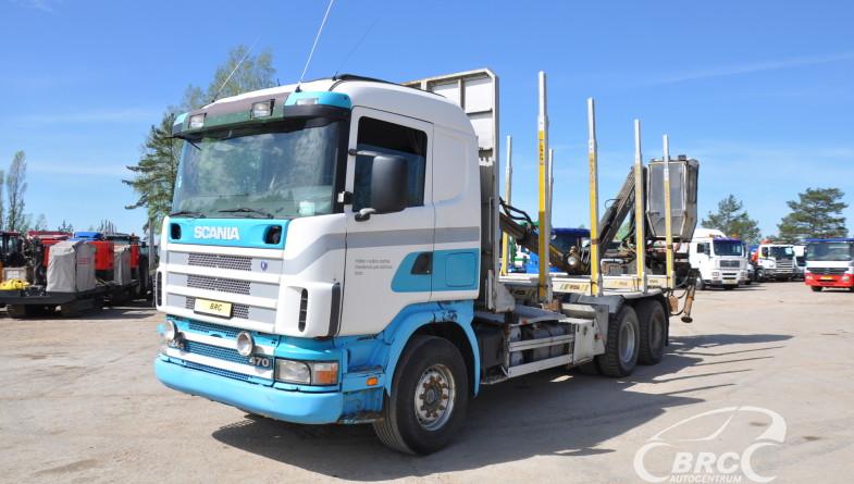 Scania R 420 Loglift 81