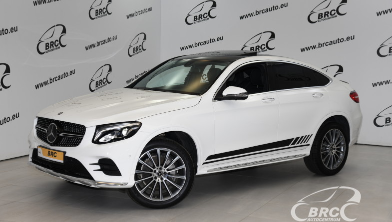 Mercedes-Benz GLC 300 Coupe 4Matic Automatas