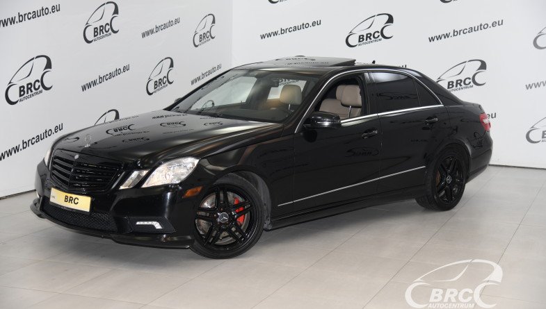 Mercedes-Benz E 350 4Matic AMG Design Automatas