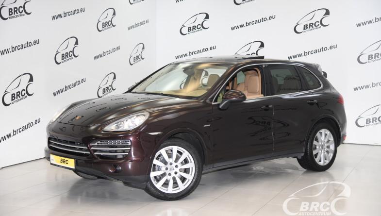 Porsche Cayenne Diesel Platinum Edition Automatas